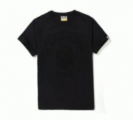何枚でも欲しくなる APE エイプ  半袖 Tシャツメンズ黒クルーネック_品質保証
