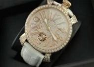 お洒落で品のあるGaGa Milano ガガミラノ ホワイトベルト ダイヤベゼル 自動巻きウォッチ_品質保証