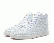 ファッション感満載 CHRISTIAN LOUBOUTIN クリスチャンルブタンルイス Louis Spikes Flat  11010833047_品質保証