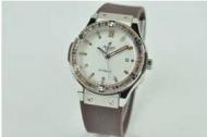 ゴールド レディース 腕時計 hublot時計 レディースウブロ クラシックフュージョン女性用ウォッチ 時計 自動巻きコーヒー ダイヤモンド_品質保証