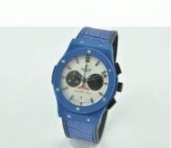 格安通販HUBLOT ウブロ 時計 コピー ビッグバン メンズウォッチ ブルー 日付表示 44MM ラバー男性用腕時計_品質保証
