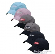 SUPREME Woolrich Box Logo New Era Cap シュプリーム キャップ コットン ボックスロゴ  ブラック ピンク 多色_品質保証