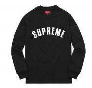 2016ss シュプリーム 人気 Supreme Arc Logo L/S Top スウェット 長袖 コットン クルーネック パーカー ブラック グレー 5色可選択