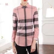 ファッション感が満点 BURBERRY バーバリー 長袖 シャツ レディース 3色可選 2019年春夏のトレンド