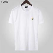 FENDI フェンディ tシャツ メンズ 洗練されたイメージが見せてくれる コピー ブラック ホワイト シンプル コーデ 品質保証