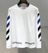 長袖Tシャツ 2色可選 2019-20秋冬旬な着こなし全部! 定番の人気なども続々入荷中 Off-White オフホワイト
